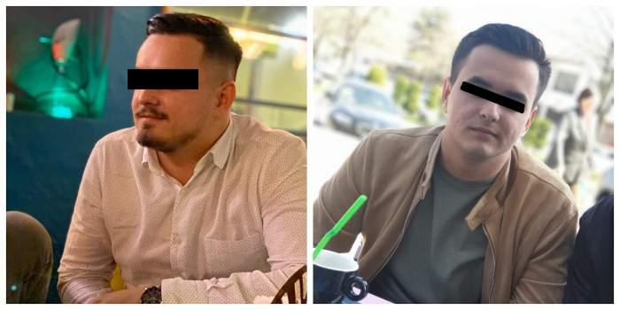 Un colaj cu Alin Roșieanu. Polițistul a murit în urma unui accident de la Cernavodă. În imagini poartă o cămașă albă și geacă maronie.