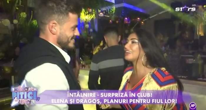 Elena Ionescu și Dragos s-au întâlnit în club