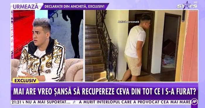 """Primele declarații ale cântărețului jefuit în plină noapte! I-a dispărut din obiecte și bani în valoare de 200.000 de euro. """"Am fost urmăriți"""""""