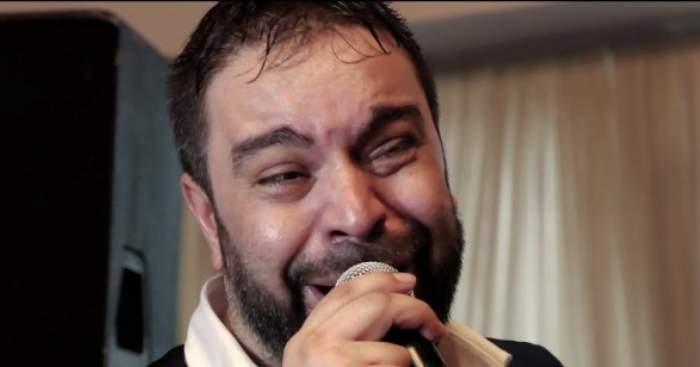 Florin Salam cântă și plânge la o petrecere