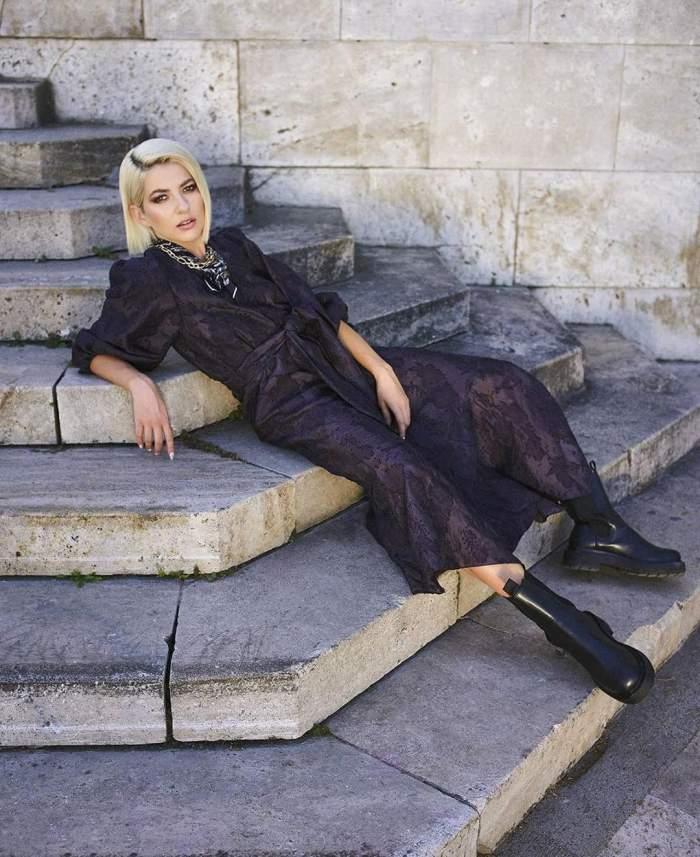 Lidia Buble, schimbare de look spectaculoasă! Ce reacție a avut solistul trupei Vunk, Cornel Ilie /  FOTO
