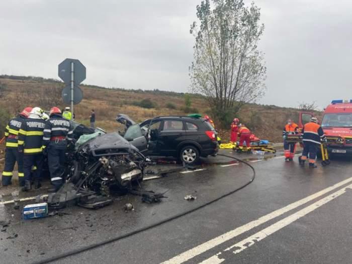 Tragic accident auto în Sălaj! O persoană a murit, iar alte patru au fost rănite