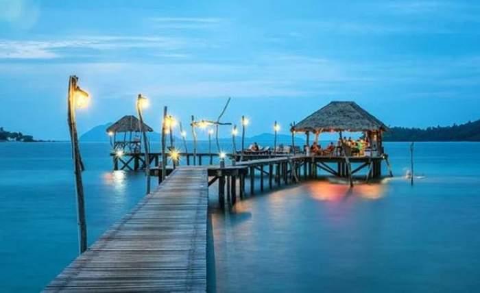Imagine ilustrativa cu un resort din Thailanda
