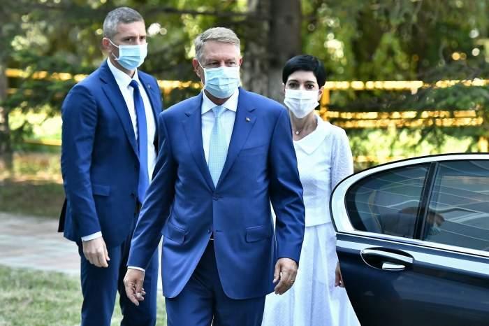 Klaus Iohannis sosește la uzina Ford din Craiova, 22 iulie 2020