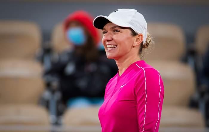 Simona Halep după meciul cu Sara Sorribes de la Roland Garros, 27 septembrie 2020