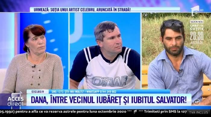 """Vecinul-agresor, bătut de concubinul femeii din Dâmbovița? Valentin susține că a avut o relație cu Dana: """"Am fost la ei acasă să mă răzbun"""" / VIDEO"""