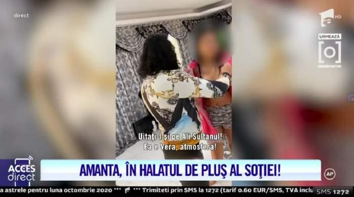 """Imagini scandaloase cu Ali Sultanul și presupusa amantă: """"Sunt iubita lui!"""". După ce a fost prins de soție în casa ei, manelistul refuză să plece! / VIDEO"""