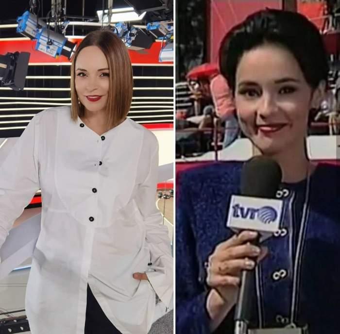 """Andreea Marin, peste 25 de ani pe micul ecran. Cum arăta vedeta la începutul carierei """"Nu știu când a trecut timpul"""" / FOTO"""