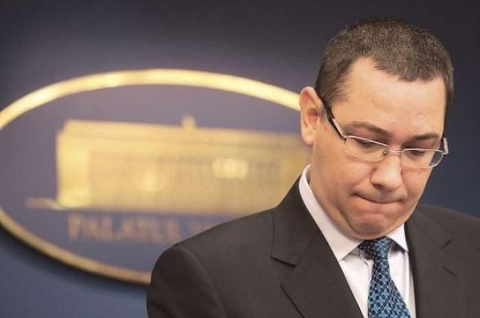 Victor Ponta a fost carantinat