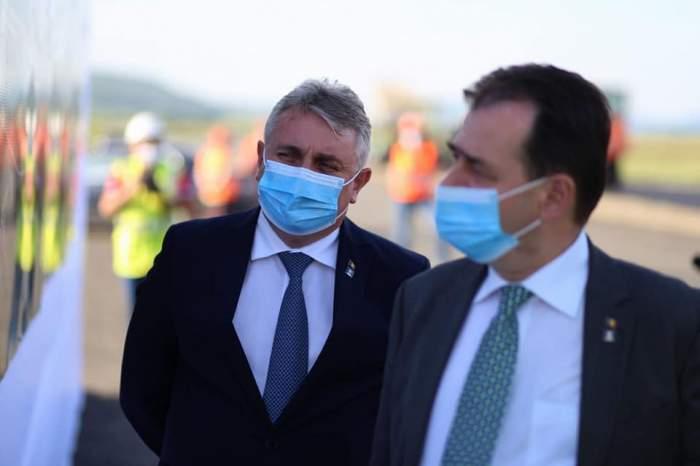 Ludovic Orban a vorbit despre demiterea ministrului Lucian Bode, după accidentul în care acesta a fost implicat