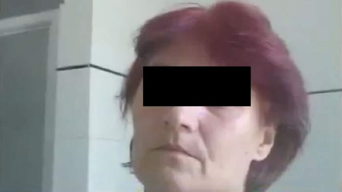 O femeia a fost omorâtă în bătaie de concubinul său. Bărbatul devenea și mai agresiv după ce bea. În fotografie se află victima, în vârstă de 52 de ani.