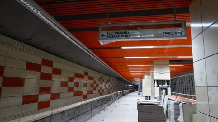 Noua stație de metrou din Drumul Taberei
