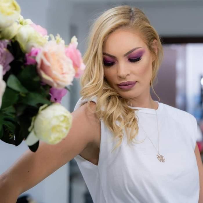 Valentina Pelinel ședință foto.