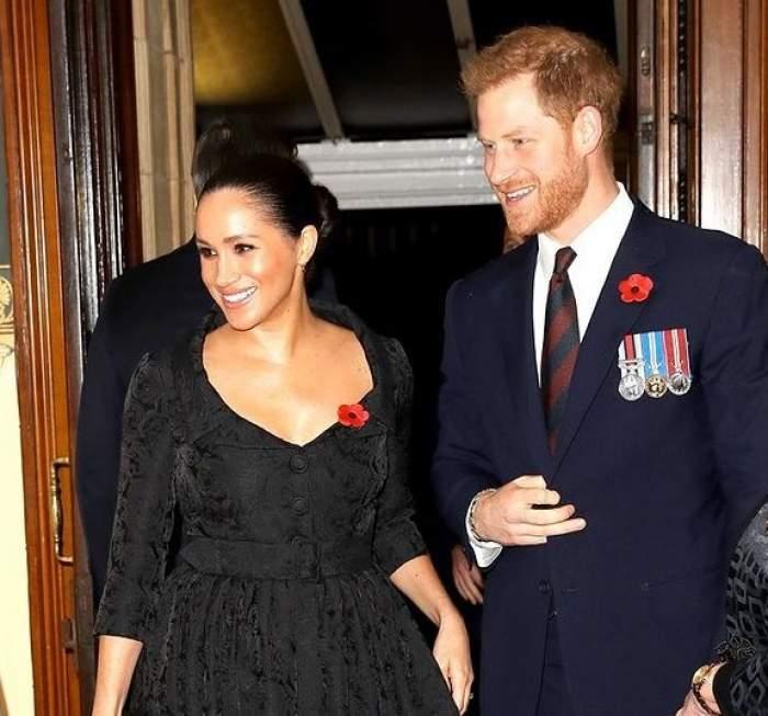 Prințul Harry și Meghan Markle la un eveniment