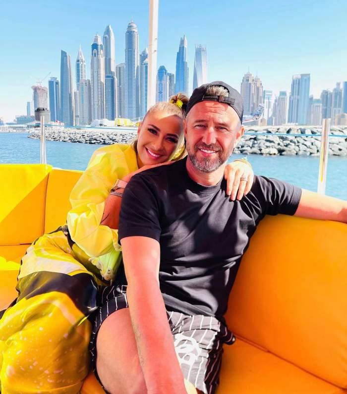 Anamaria Prodan și Laurențiu Reghecampf, în vacanță.