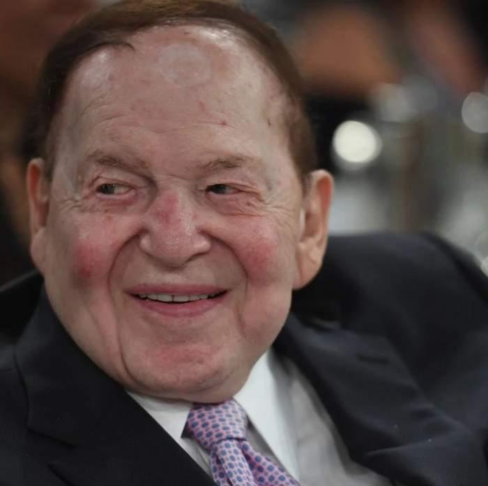 Sheldon Adelson în perioada în care trăia.