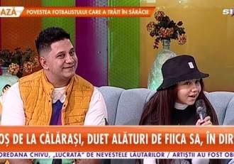 """De ce nu este de acord Cocoș de la Călărași ca fiica sa să cânte manele. Melisa s-a lansat deja în muzică: """"Nu are voie"""""""