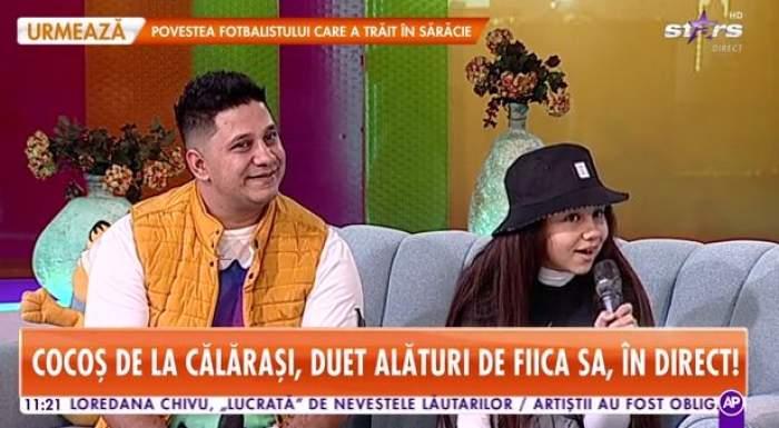 Cocoș de la Călărași și Melisa, interviu la Star Matinal