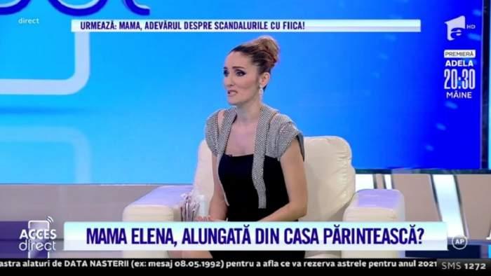 """Acces Direct. Tânără mămică, dată afară din casă de cea care a născut-o? Elena spune că fratele ei este de vină: """"M-a abuzat"""" / VIDEO"""