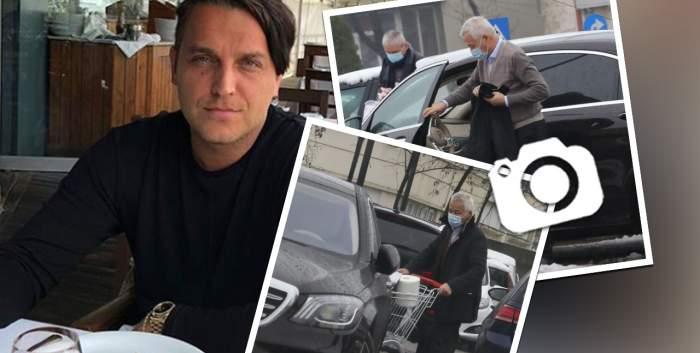 """În timp ce Syda s-a făcut """"bărbat de casă"""", tatăl lui se comportă ca un """"rebel""""! Cum a încălcat legea Bebe Ionescu în plină stradă! / PAPARAZZI"""