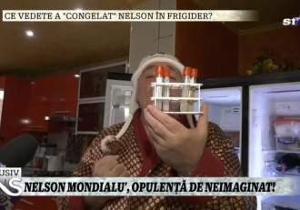Nelson Mondialu', aroganță dusă la extrem! Și-a cumpărat frigider de 60.000 de euro, unde ține ADN-ul Oanei Zăvoranu / VIDEO