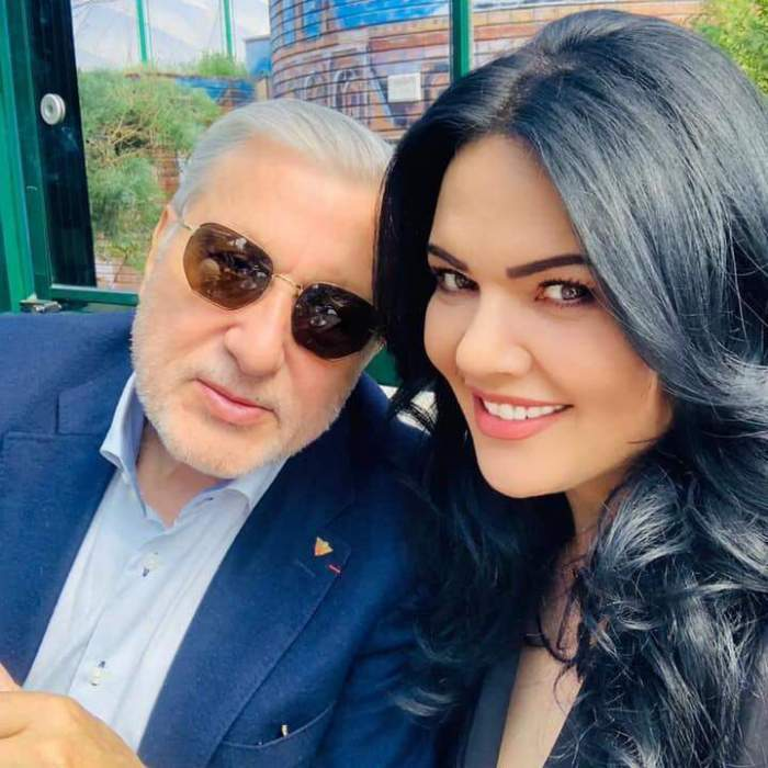 Ioana și Ilie Năstase, selfie, afară, zâmbitori și eleganți