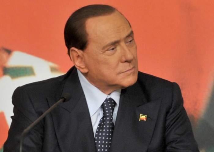 Silvio Berlusconi, la conferință de presă