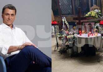 Imagini exclusive de la capela unde este depus trupul neînsuflețit al lui Bogdan Stanoevici! Ce gest au făcut apropiații în memoria lui!