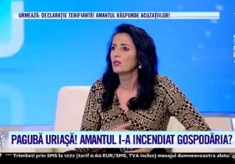 Acces Direct. Marcela, păgubită de amant de zeci de mii de euro? Femeia susține că fostul iubit i-a dat foc la casă! / VIDEO