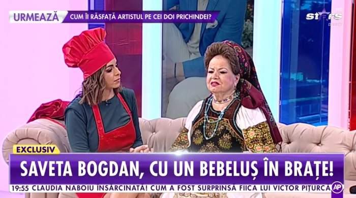 Saveta Bogdan, pregătită să fie bunică! Cântăreața de muzică populară, despre cea mai mare dorință / VIDEO