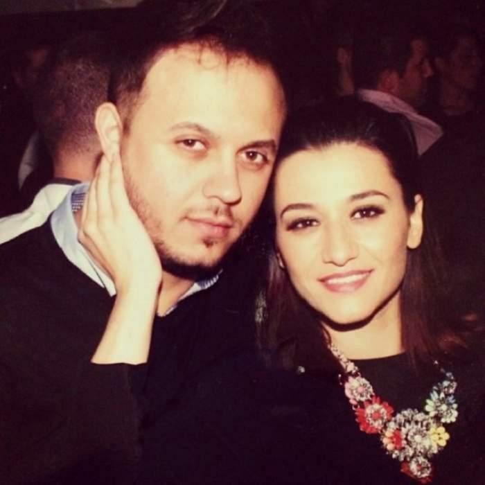 Gabi Bădălău și Claudia Pătrășcanu pe vremea când formau un cuplu.
