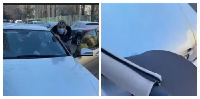 Imagini halucinante cu un șofer care a lovit un cărucior în care se afla un bebeluș! Cine este bărbatul acuzat de tentativă de omor / VIDEO