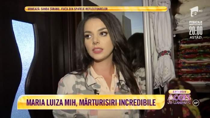 Acces Direct. Maria Luiza Mih, adevărul despre al doilea copil! Cântăreața-designer a devenit mamă în adolescență! / VIDEO