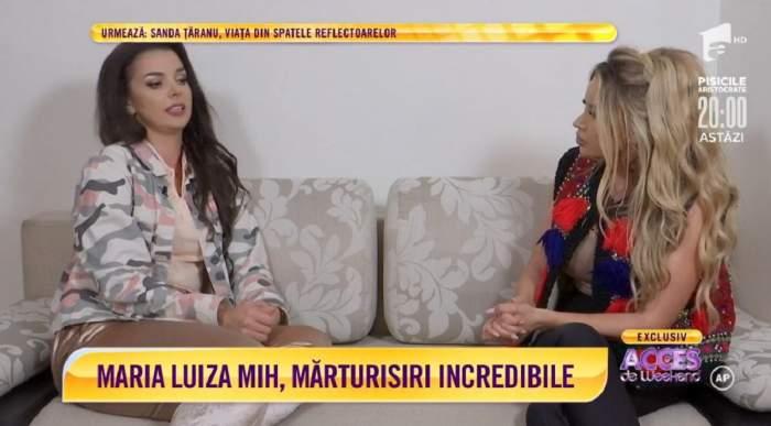 """Acces Direct. Maria Luiza Mih a fost la un pas de moarte! Vedeta, dezvăluiri sfâșietoare despre cumpăna vieții ei: """"Am stat în comă"""" / VIDEO"""