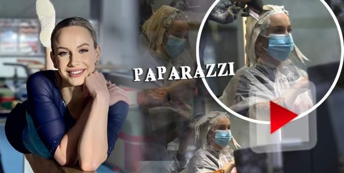 """Așa arată o viitoare mireasă! Proaspăt cerută în căsătorie, Sandra Izbașa vrea să fie """"țiplă"""" în fața lui Răzvan Bănică! Ce face fosta gimnastă pentru logodnicul ei! / PAPARAZZI"""
