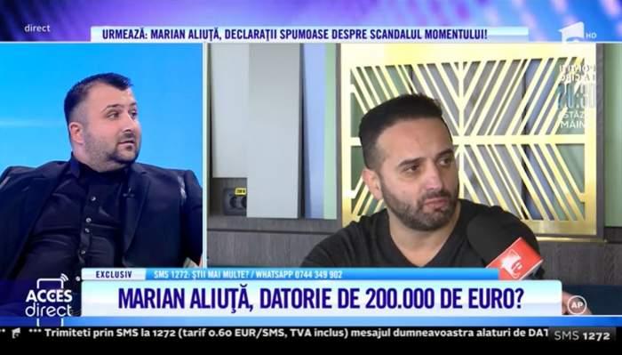 Acces Direct. Marian Aliuță, acuzat de un fost prieten că l-a bătut și nu i-a plătit datoria de 100.000 de euro! Cum a ajuns fostul fotbalist rău-platnic / VIDEO