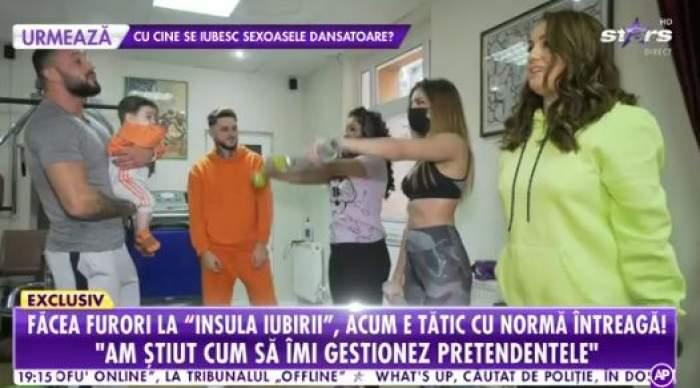 Familia Zănoagă face sport de la mic la mare
