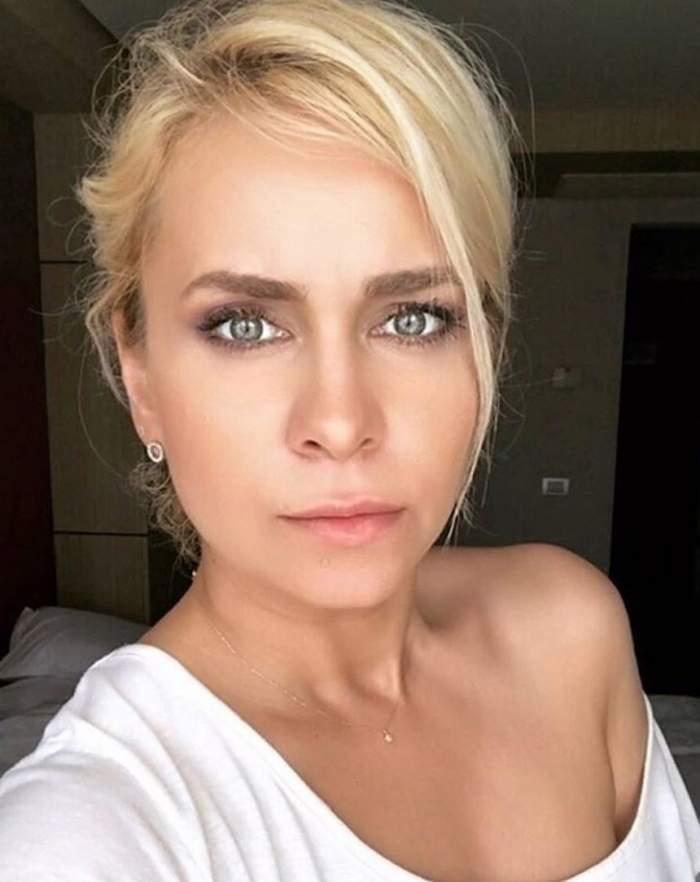 Paula Chrilă a fost luată cu ambulanța, direct din platoul Xtra Night Show! Ce a pățit vedeta