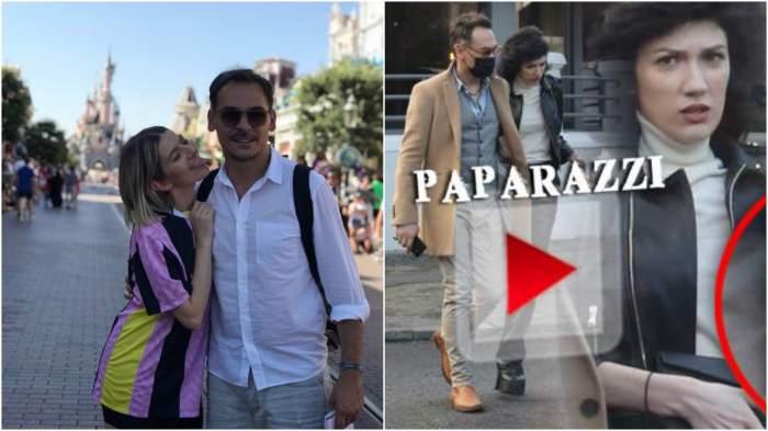 Colaj cu Lidia Buble și Răzvan Simion în perioada în care formau un cuplu/ Răzvan Simion și noua iubită.