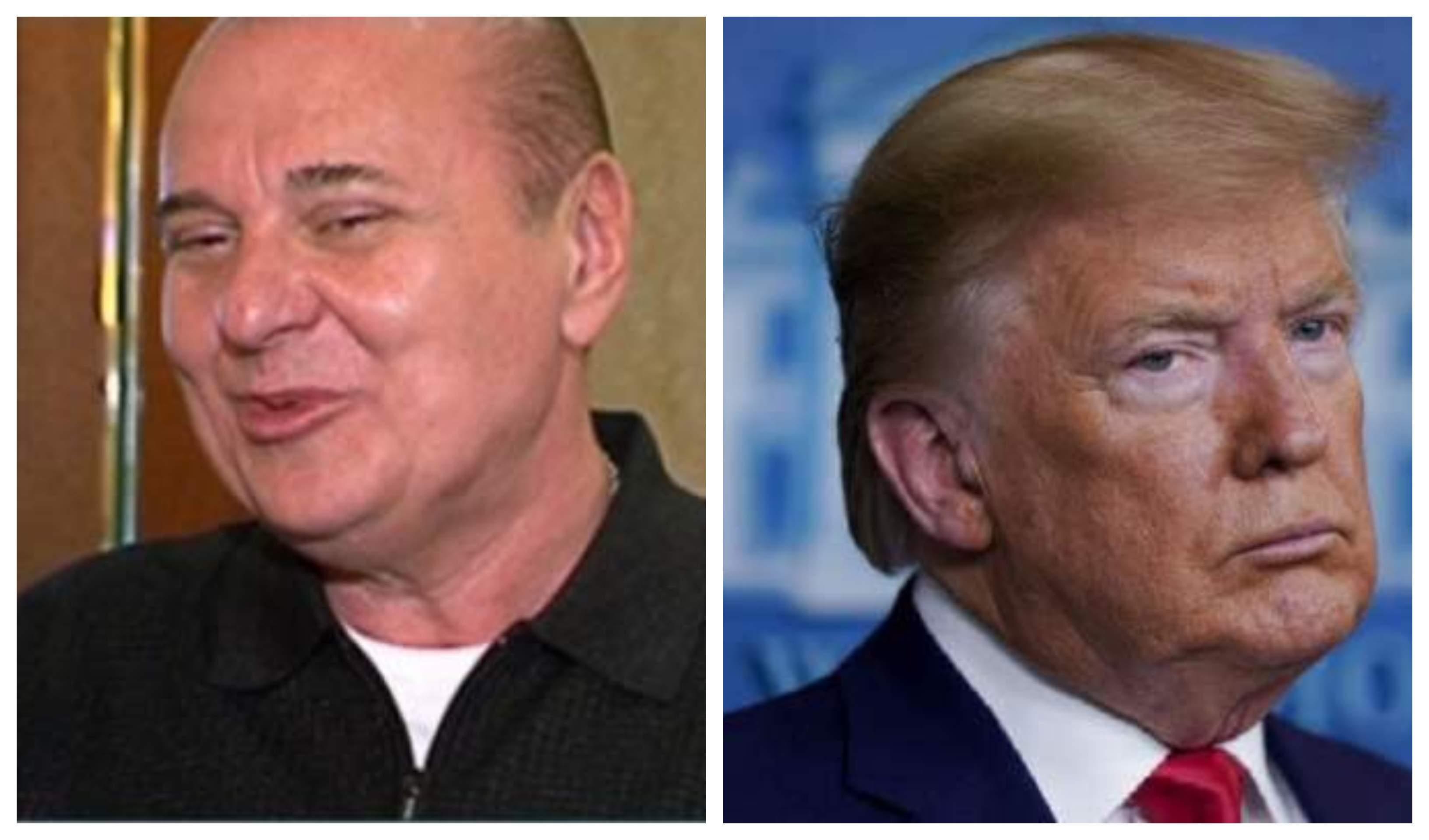 Nick Radoi ofera un interviu pentru Antena Stars, Donald Trump este la o conferinta, este incruntat