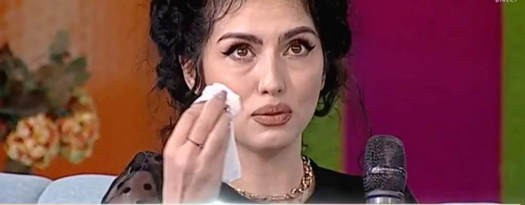 Doinița Oancea a plans in direct la Antena Stars