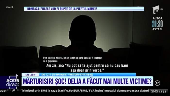 """Acces Direct. Travestitul Delia din Câmpia Turzii a mai făcut o victimă! Cum a reușit să le sucească mințile bărbaților: """"Am zis că mi-am găsit nevastă"""" / VIDEO"""