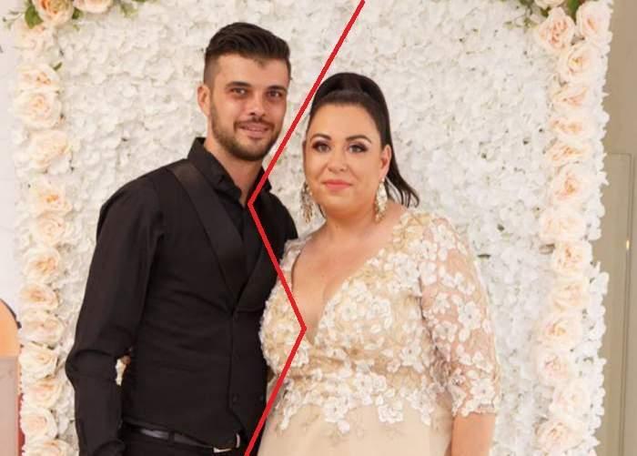 Oana Roman și Mariu Elisei în perioada în care formau un cuplu, la un eveniment monden.