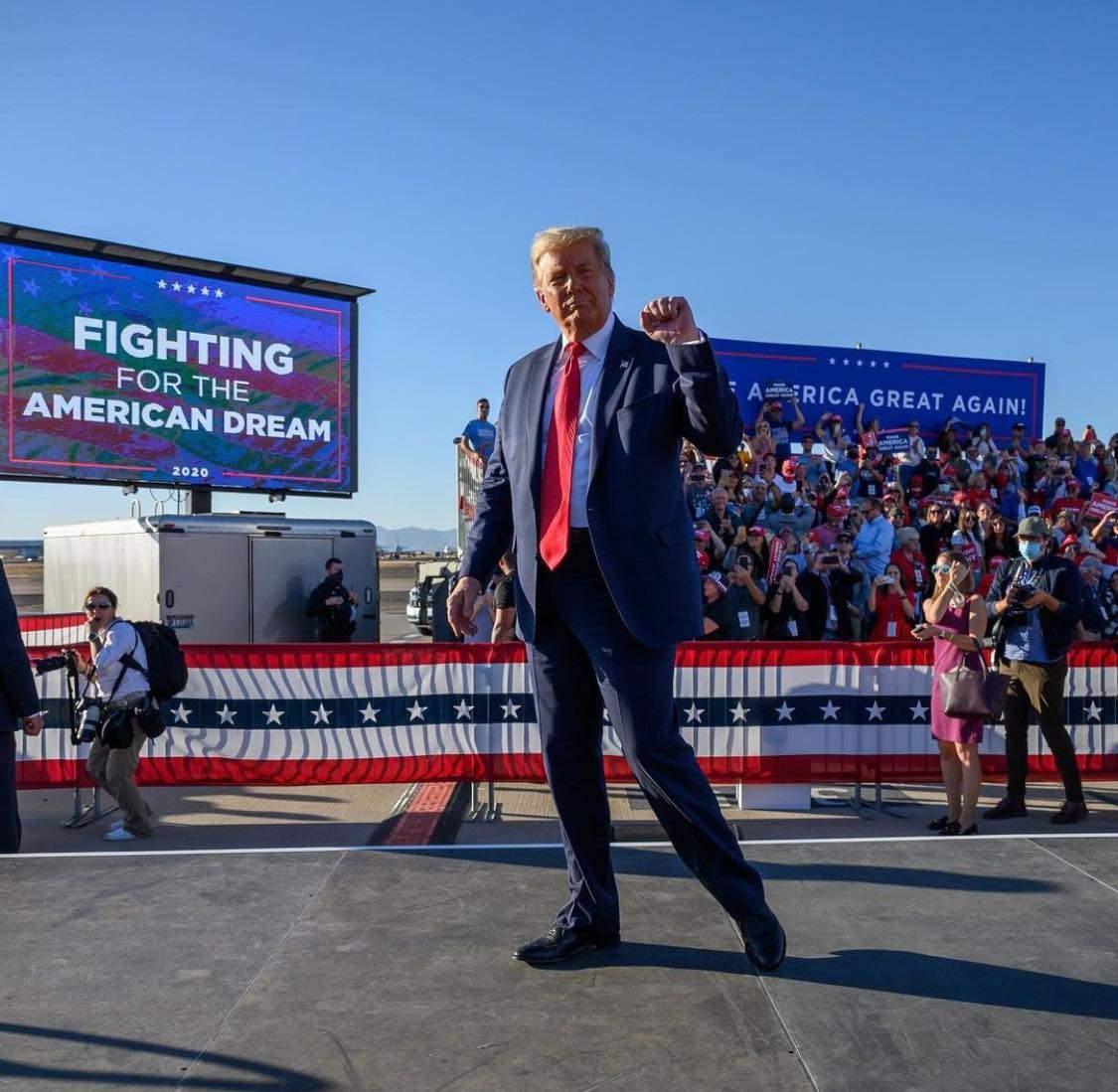 Donald Trump - fostul președinte al Statelor Unite ale Americii