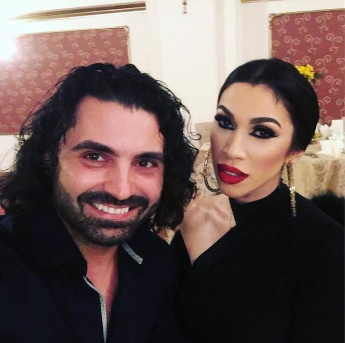 Raluca Pastramă și Pepe în perioada în care formau un cuplu.