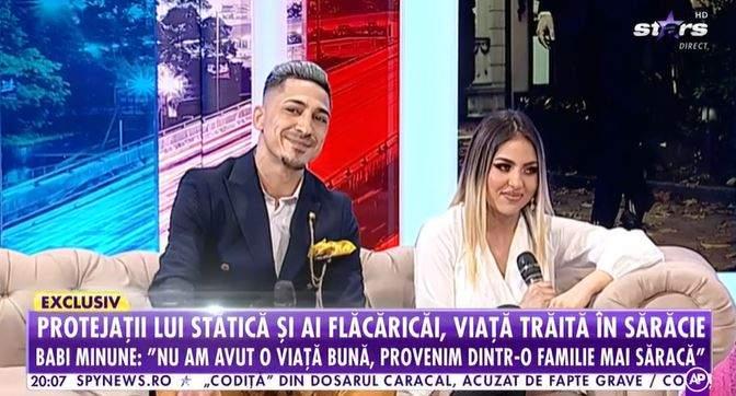Babi Minune și Petruța în platou la Antena Stars.