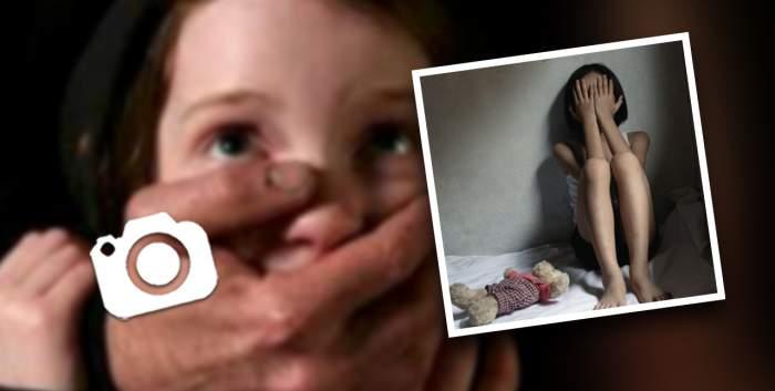 Copii filmați în timp ce erau violați de trei perverși / Imaginile șocante au fost postate pe internet