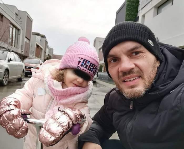Pitbull Atodiresei cu fiica lui