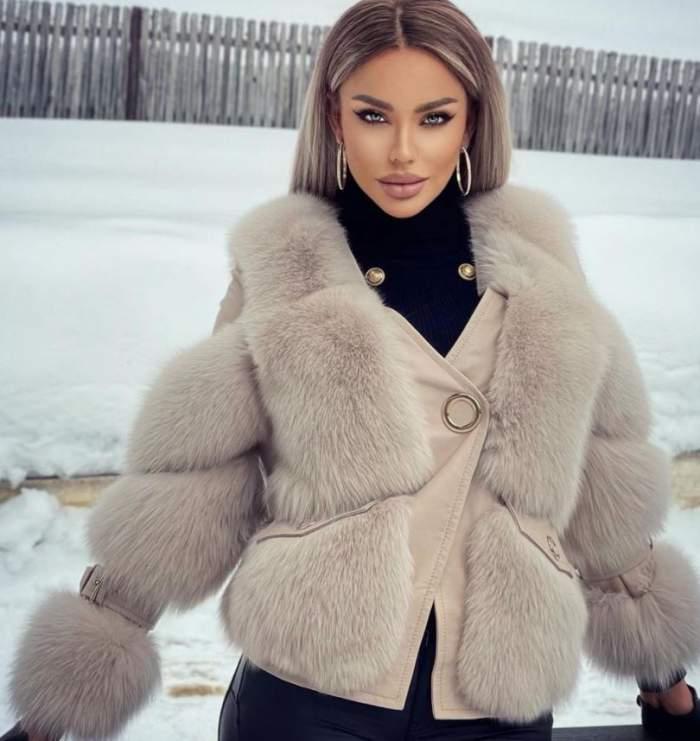 Bianca Drăgușanu trăiește pe picior mare, atât la propriu, cât și la figurat