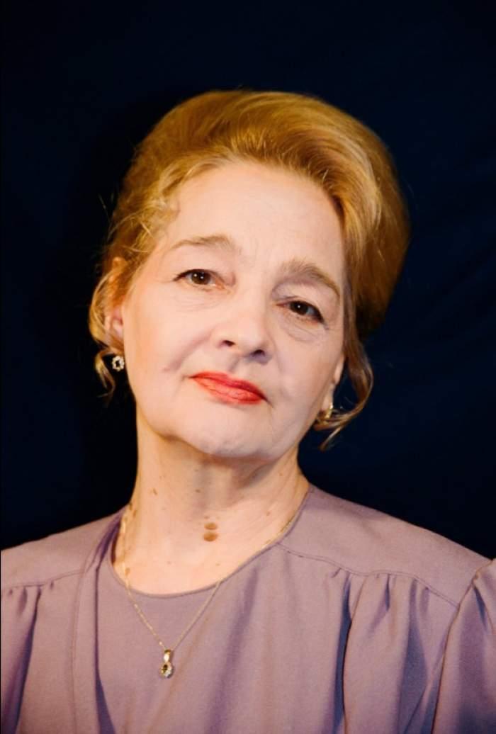Georgeta Luchian Tudor mai tânără
